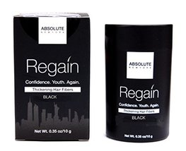 Regain Hair Fibers by Absolute 0.35oz/10g (Black) - $17.81
