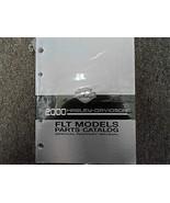 2000 Harley Davidson FLT Models Parts Catalog Manual Factory New - $98.95