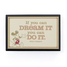 Hallmark Disney If You Can Dream It You Can Do It Small Plaque New - $14.97