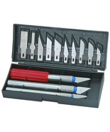 Precision Knife Set 13 Piece Etching Scribing Retouching Stencils Layouts - $6.85