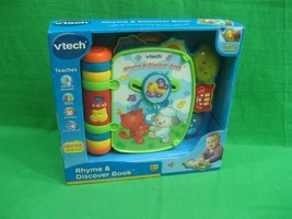 Vtech Baby's Rhyme and Discover Book ~ Nursery Rhymes ~ Music ~ Animals ~ NEW - $28.01
