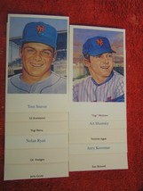 MLB 1969 New York Mets @ Shea World Champion Post Cards By R. Lewis $ 2.99 Each - $2.96