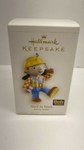Hallmark Keepsake ornament Bob the Builder Hard At Work Holiday Decorati... - $9.85