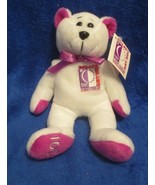 """Relay For Life Coraggio Bear Cancer Research 2001 2nd Edition  8"""" - $11.57"""