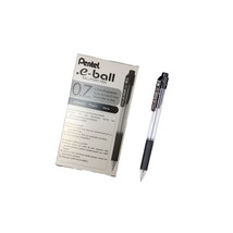Pentel e-ball 0.7mm Retractable Ballpoint Pen (12pcs), Black Ink, BK127 - $24.99
