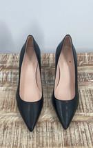 Kate Spade Womens Shoes Sz 9.5 Black Classic Pumps  Leather Heels - $44.55