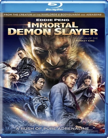 Immortal Demon Slayer (Blu Ray) (Ws/Chinese)