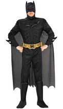 Halloween The Dark Knight Batman Deluxe Muscle Chest Costume, Black, Medium - $89.09