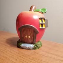 Apple Fairy House, Miniature House, Fairy Garden Crafts, Garden accessories
