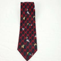 Looney Tunes Mania VINTAGE PAISLEY BUGS BUNNY TASMANIAN DEVIL Necktie Ti... - $27.15