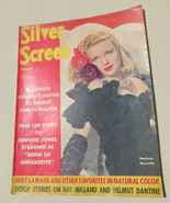 VINTAGE~SILVER SCREEN~MARJORIE REYNOLDS~VOL 13, NO.10, 1943~MOVIES, Holl... - $19.79