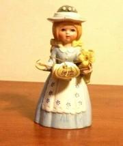Vintage Reliance Dutch Girl  Porcelain Sewing Pin Cushion Doll Figurine   - $39.60