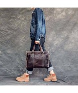On Sale, Handmade Shoulder Bag, Full Grain Leather Tote Bag, Laptop Bag,... - $190.00