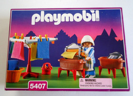 NEW Playmobil 5407 VICTORIAN LAUNDRY ROOM for Mansion Doll House NISB - $47.99