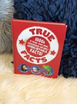 True Facts Book Hardback 1000s Of Freaky Gross Scary Facts - $15.83