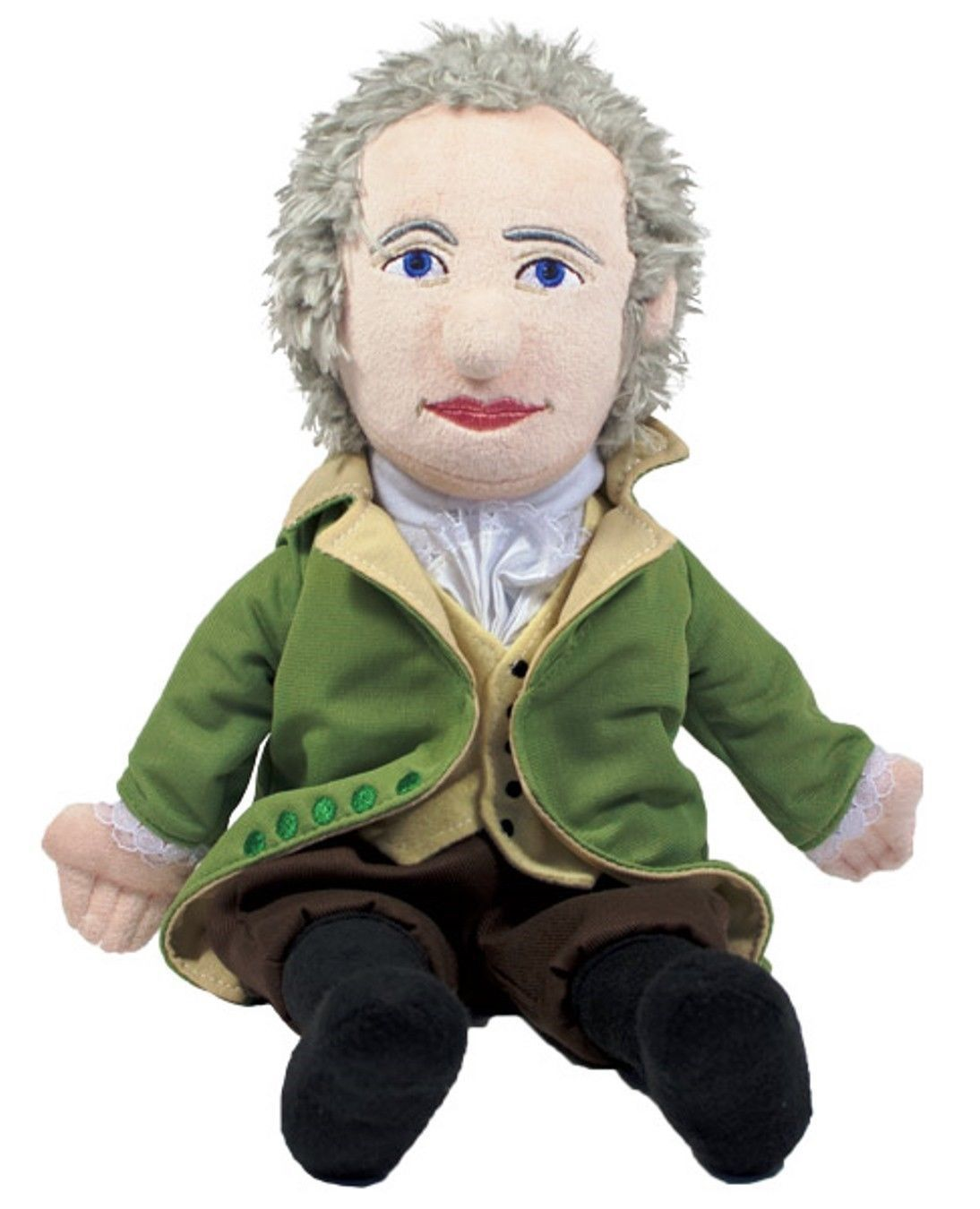 "ALEXANDER HAMILTON Plush Doll 14"" Unemployed Philosophers"