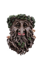 Pacific Giftware Greenman Face Resin Figurine Wall Plaque - $25.73