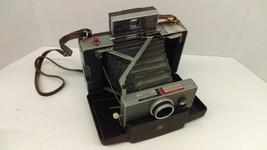 Vintage 1963-66 Polaroid 100 Land Instant Folding Camera With Manual - $20.46