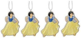 Set of 4 Disney Princess Snow White Christmas Ornaments  - $7.91