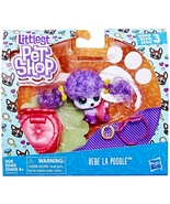 Littlest Pet Shop Bebe La Poodle S3 Special Edition Pets LPS #3-88 - $8.49