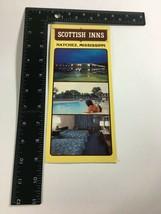 Mississippi MS Oversized postcard Scottish Inns Motel Natchez Multi view - $4.95