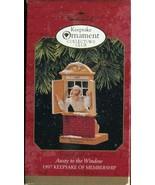"1997 Hallmark Keepsake Ornament ""Away to the Window"" QXC5135 - Collector... - $2.66"