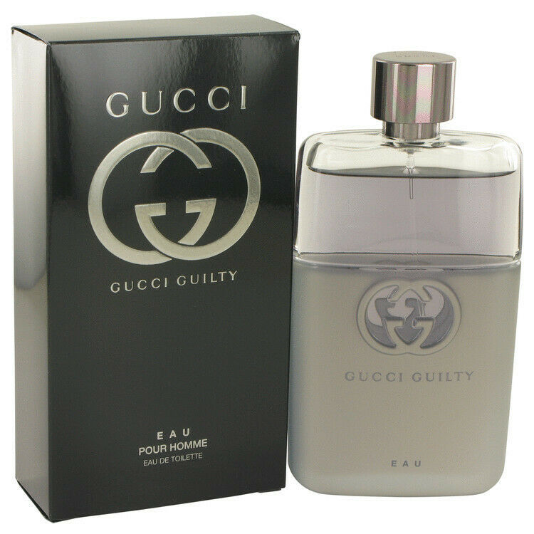 Primary image for Gucci Guilty Eau by Gucci 3 oz / 90 ml EDT Spray for Men