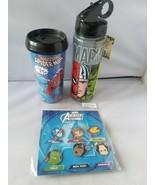 Nuevo Disney Oficial Trading Pins Marvel Avengers Pack 6 + Bonus Viaje V... - $62.84