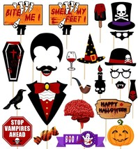 Halloween Photo Booth Props Creepy Zombie Vampire Trick Or Treat Party - ₨1,168.04 INR