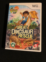 Great Dinosaur Rescue Wii Video Game. Like new with manual 2006 - $26.99