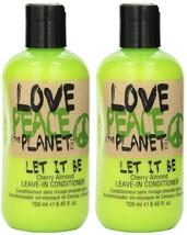 LOVE PEACE & THE PLANET LET IT BE CHERRY ALMOND LEAVE IN CONDITIONER 8.4... - $19.47