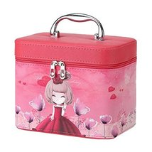 Cosmetics Case Makeup Train Case Cosmetics Organizer Beauty Bag -A4 - $48.27