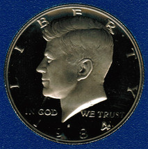 1984 S Proof Kennedy Half Dollar CP2023 - $4.75
