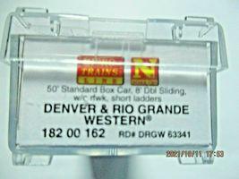 Micro-Trains Stock # 18200162 Denver & Rio Grande Western 50' Boxcar W/Load (N) image 6