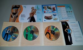 Beachbody Debbie Siebers Slim in 6 program 3 Workout DVD fitness program - $29.95