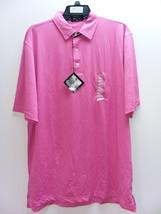 Byron Nelson Men's Performance Golf Polo Shirt, Pink, XL - $44.55
