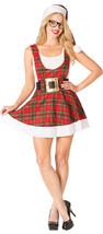 Rasta Imposta Hipster Ms. Claus Adulto Mujer Navidad Disfraz Halloween 762 - $35.54