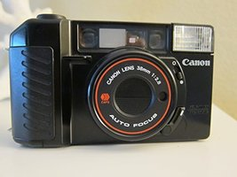 Canon Sure Shot 35mm point and shoot film camera with 38 mm f/2.8 Lens - $85.95