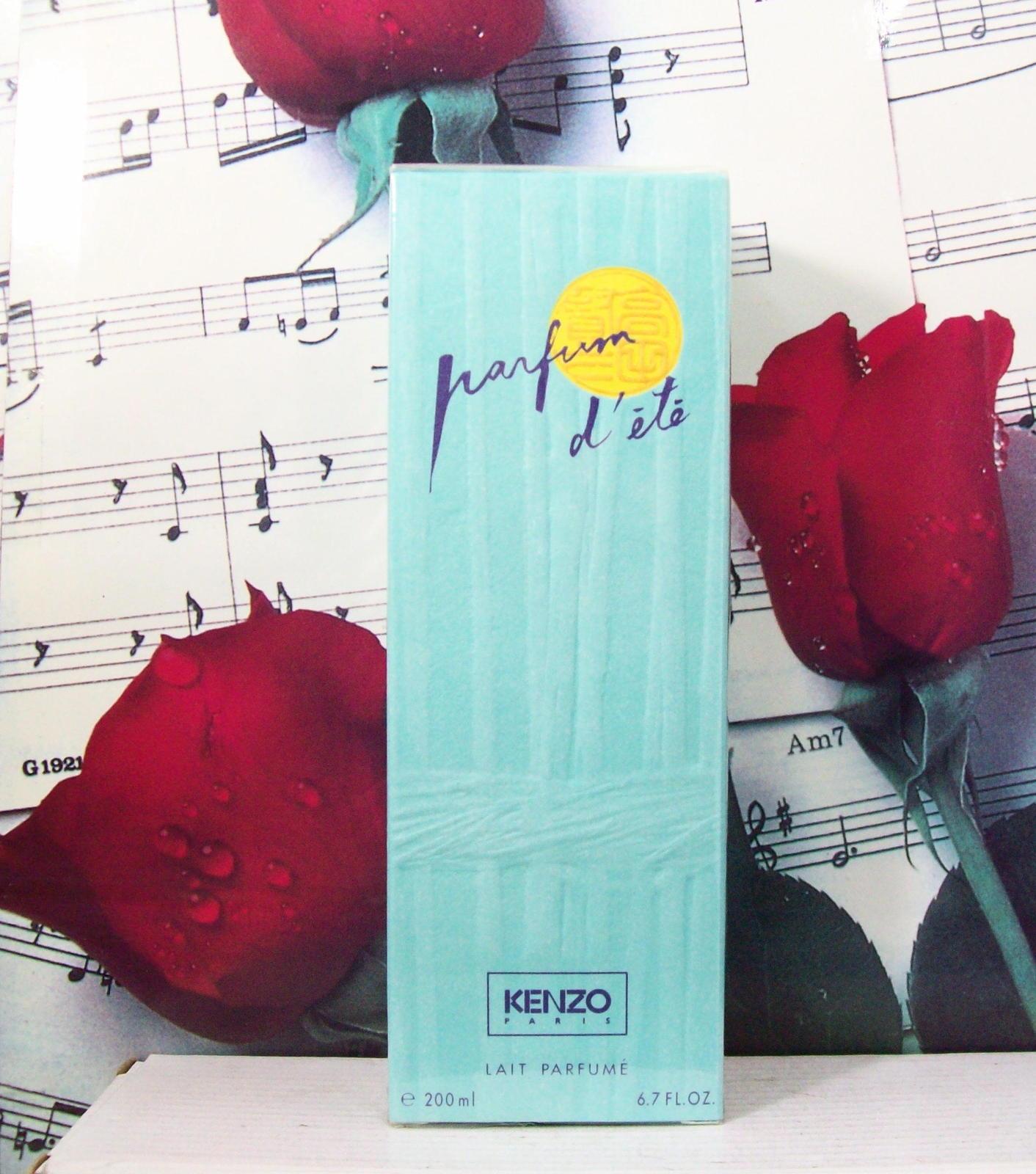 Kenzo Parfum D'ETe Body Lotion 6.7 FL. OZ. NWB. Vintage - $69.99