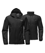NEW MENS THE NORTH FACE THERMOBALL TRICLIMATE 3 IN 1 BLACK JACKET S $299 - $188.09