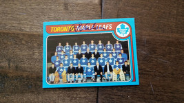 1979-80 Topps Maple Leafs Team Card Signed Auto By Roger Neilson Canucks Hof 258 - $39.59
