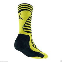 NIKE Air Jordan Retro Inspired Crew Socks sz L Large (8-12) Black Venom ... - $19.99