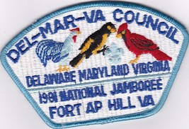 Del-Mar-Va Council - National Jamboree 1981 - $15.00