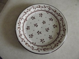 Provence Boutique Brown salad plate 3 available - $3.12