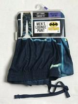 DC Comics Batman Lightning Flannel Sleep Lounge Pants Pajama- size XXL- 44-46 - $21.78