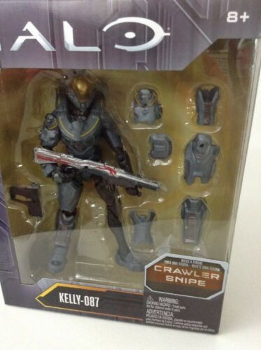 Mattel Halo Build A Figure Kelly - 087 Crawler Snipe Forerunner Series 2 Sealed