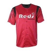 New Mens Mlb Cincinnati Reds Baseball Jersey True Fan Red Size L Major League - $33.33