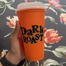 Starbucks 2020 Halloween Glow In The Dark 16oz Reusable Hot Cup & Lid Da... - $9.89
