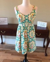 Judith March Dress Fits Medium Fit And Flare Partial Open Back A Line - $25.73