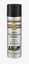 RUST-OLEUM Professional GLOSS BLACK 15 oz Spray High Performance Enamel ... - $8.99